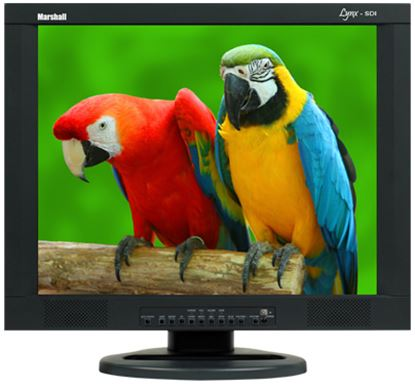 Immagine di M-LYNX-19-CM 19' A/V LCD Monitor with 2x Composite, Component, S-Video, VGA, DVI, and 2x Audio inputs with ceiling mount